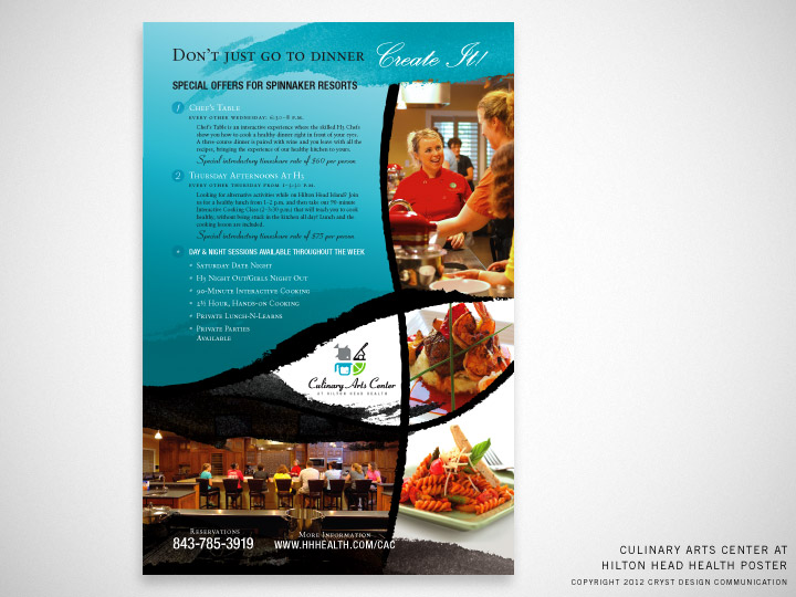 Culinary Arts Center at Hilton Head Health Poster